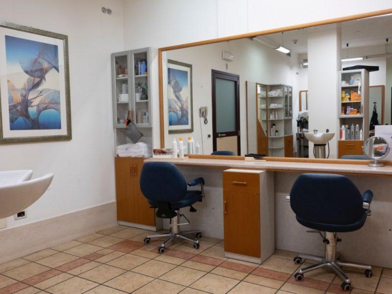 il salone della parrucchiera